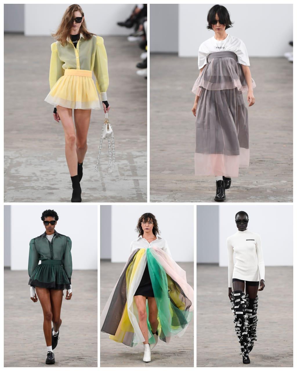 عرض  أزياء بالمحاليل في أول عروض أسبوع الموضة في باريس (3)