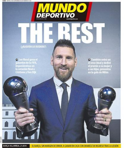 Messi The Best موندو