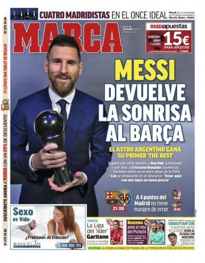 Messi The Best ماركا
