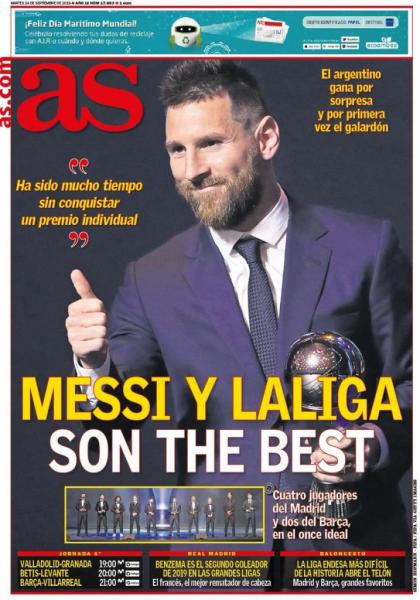 Messi The Best اس