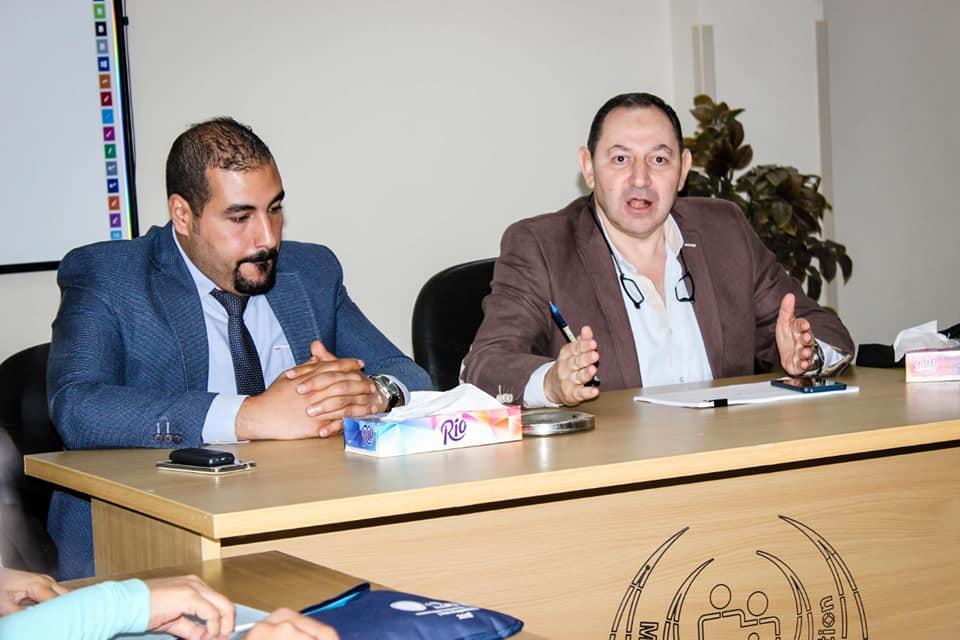 نائب رئيس أمانة المراكز الطبية المتخصصة يزور مستشفي أرمنت والأقصر الدولي  (3)