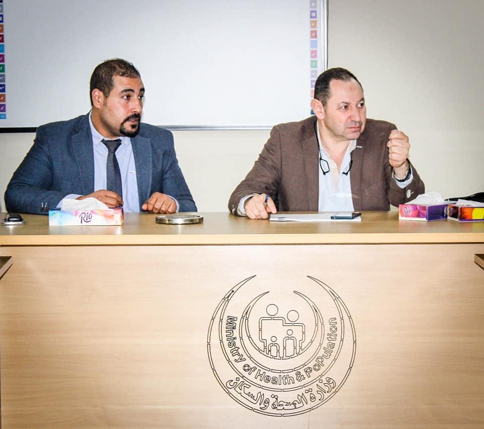 نائب رئيس أمانة المراكز الطبية المتخصصة يزور مستشفي أرمنت والأقصر الدولي  (5)