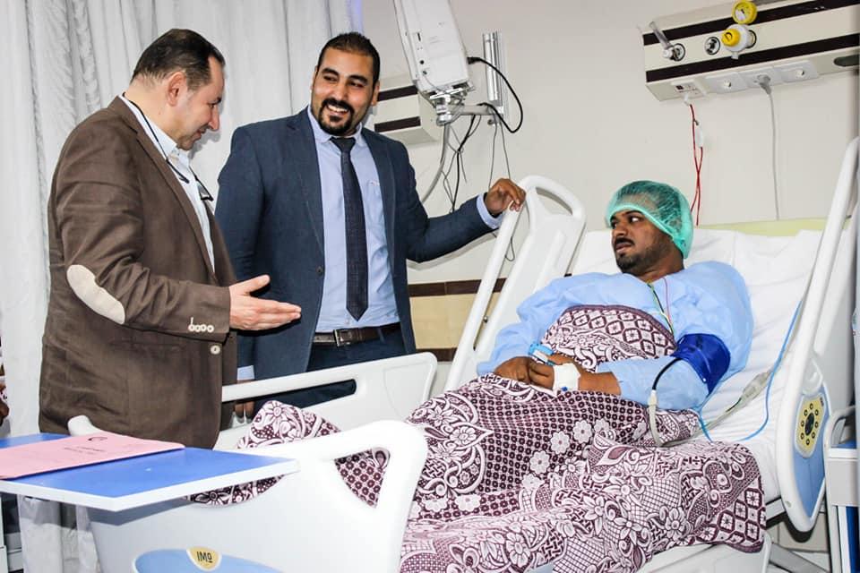 نائب رئيس أمانة المراكز الطبية المتخصصة يزور مستشفي أرمنت والأقصر الدولي  (2)