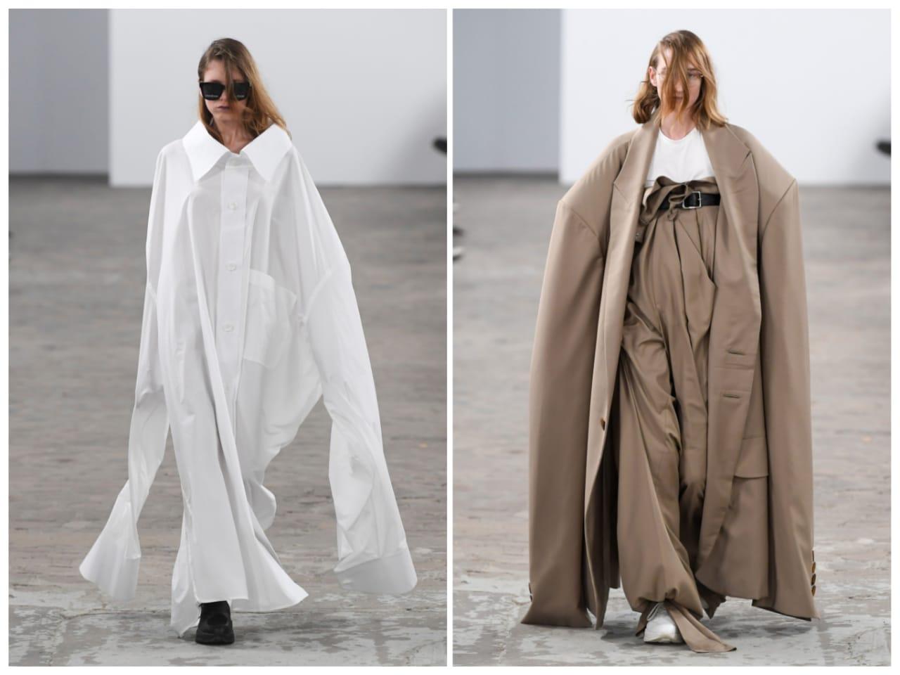 عرض  أزياء بالمحاليل في أول عروض أسبوع الموضة في باريس (1)