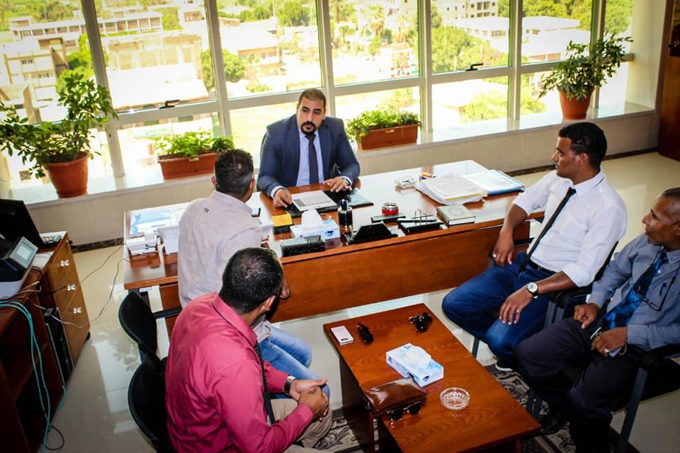 نائب رئيس أمانة المراكز الطبية المتخصصة يزور مستشفي أرمنت والأقصر الدولي  (4)