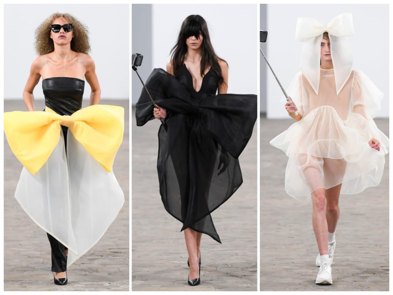 عرض  أزياء بالمحاليل في أول عروض أسبوع الموضة في باريس (2)