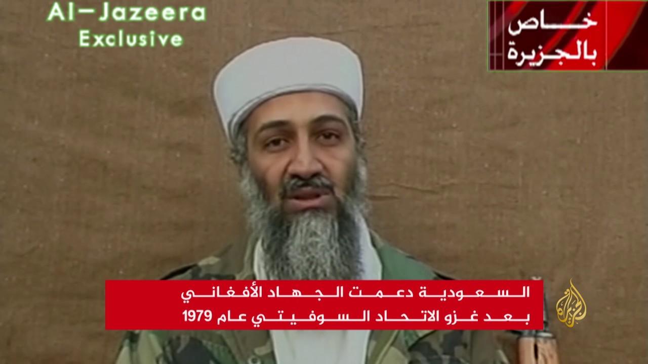 بن لادن على شاشات الجزيرة