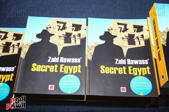 حفل توقيع كتاب أسرار مصر لزاهى حواس (6)