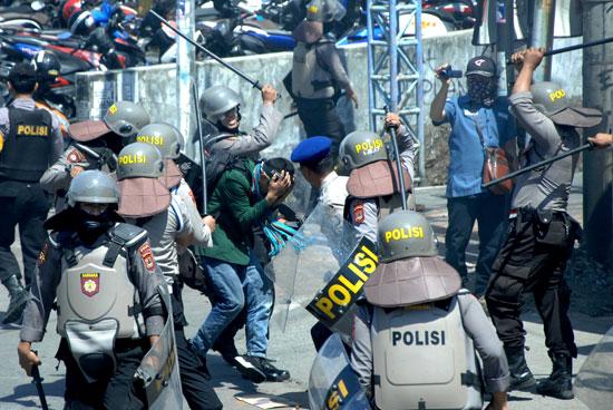 قوات الشرطة الإندونيسية