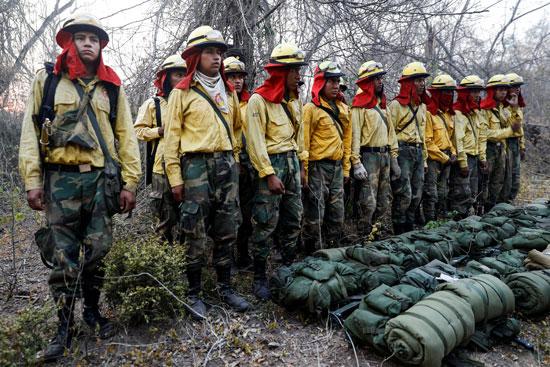 رجال إطفاء