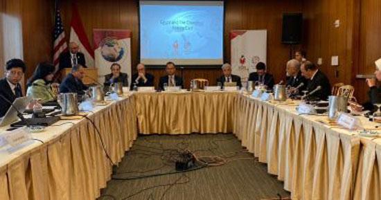 المركز المصرى للفكر والدراسات الاستراتيجية ينظم مؤتمر (4)
