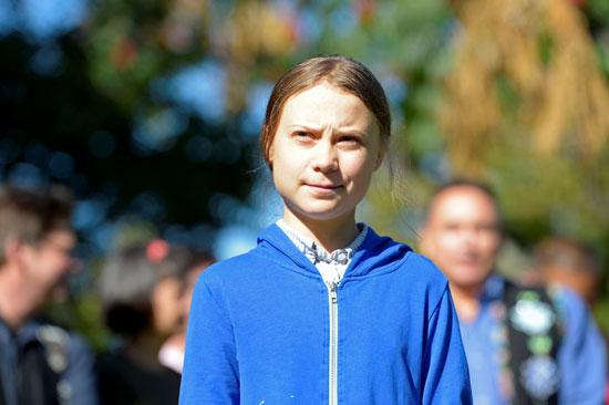 جريتا ثونبرج تنضم لمسيرة في مونتريال