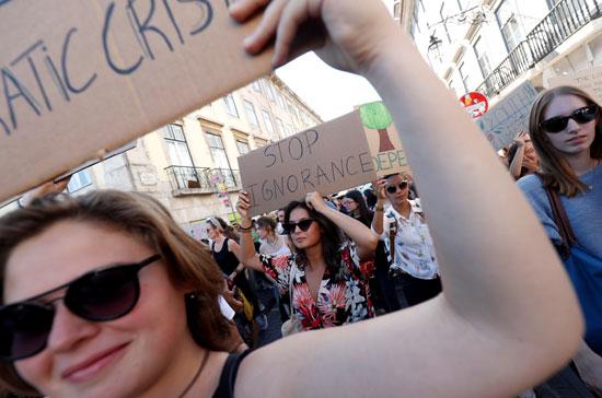 مظاهرات-البرتغال