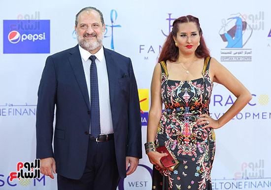 خالد-الصاوى-وزوجته
