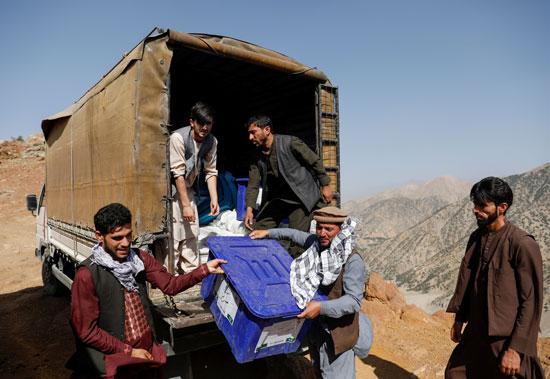 انتخابات الرئاسة فى أفغانستان
