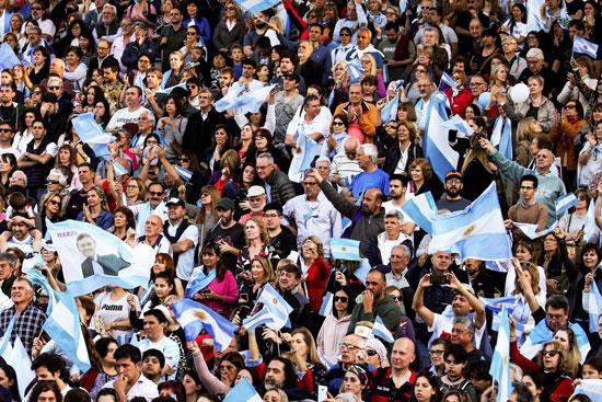أنصار الرئيس الأرجنتينى
