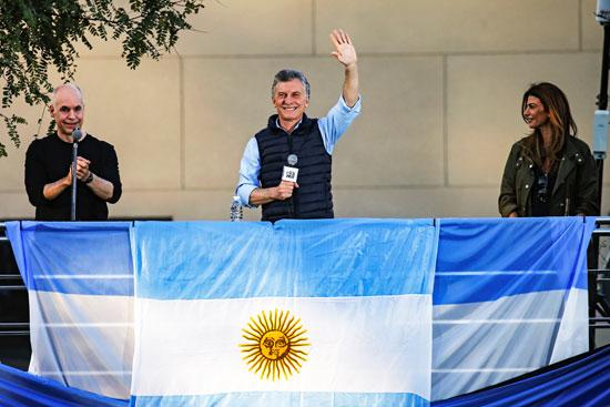 الرئيس الأرجنتينى ماوريسيو ماكرى