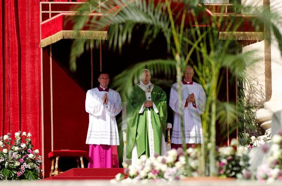 البابا-فرنسيس-خلال-القداس