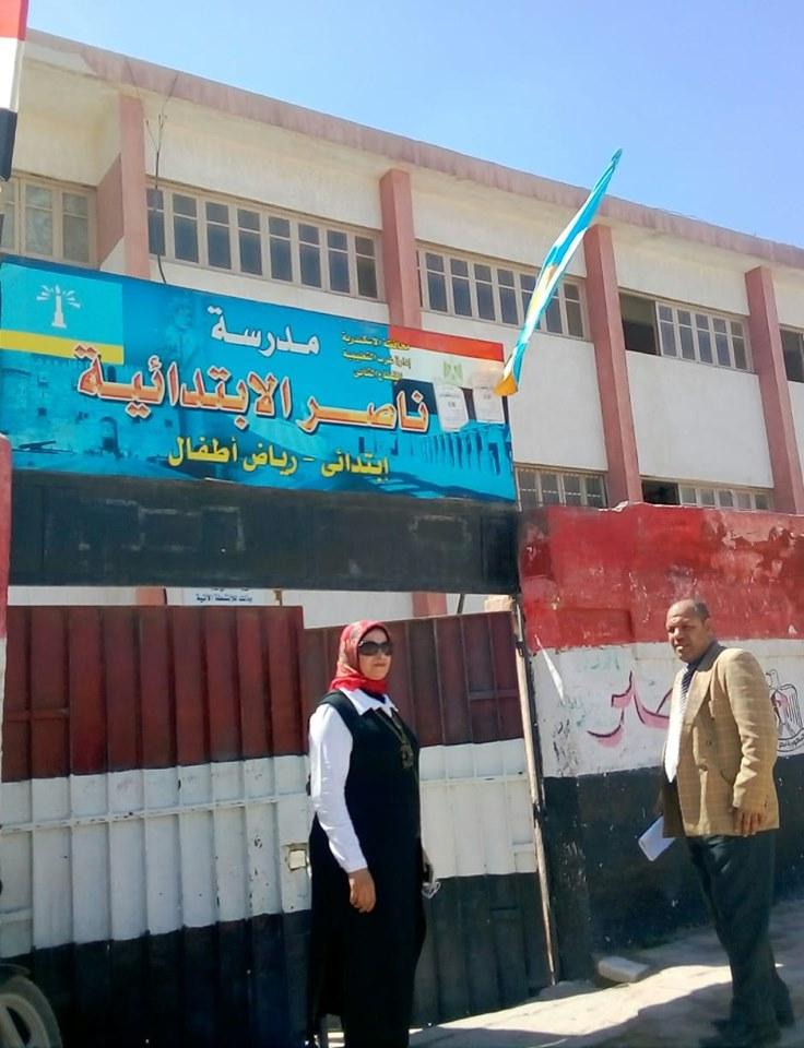 جوالات تعليم الإسكندرية على المدارس (3)
