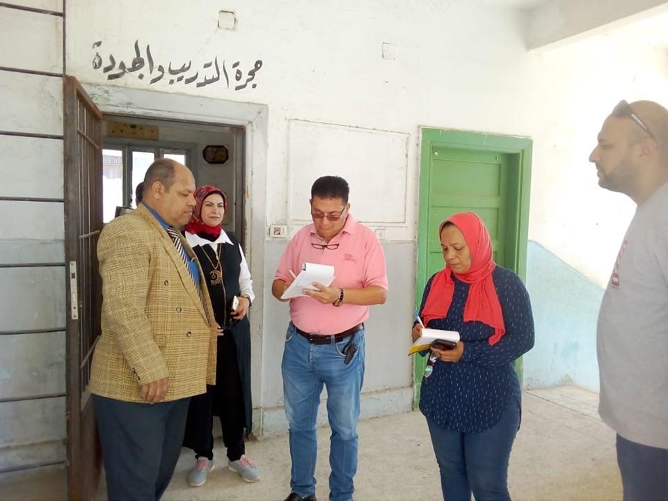 جوالات تعليم الإسكندرية على المدارس (5)