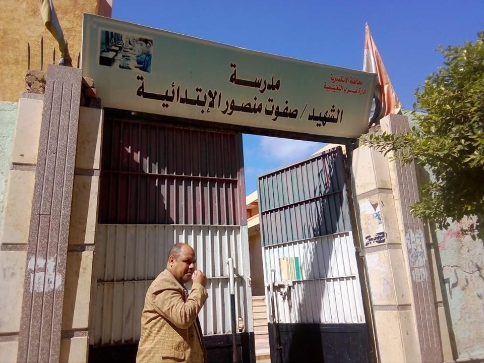 جوالات تعليم الإسكندرية على المدارس (4)