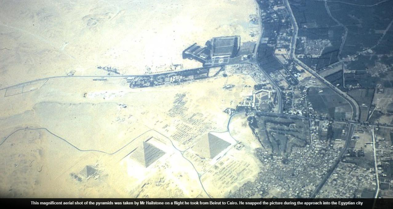 لقطة جوية للقاهرة