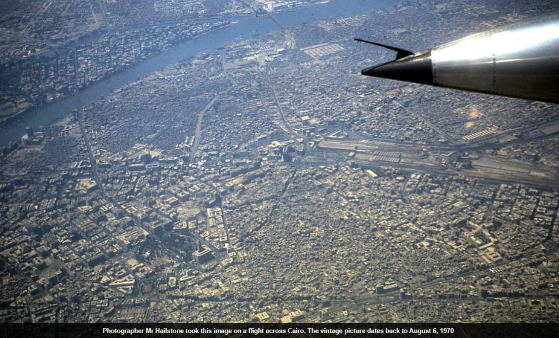القاهرة من الأعلى