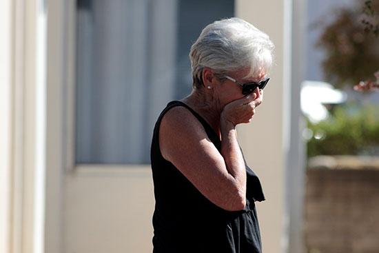 سيدة مازال ابنها مفقود