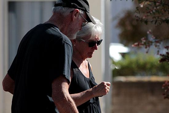 زوجان مازال ابنهما ضمن المفقودين