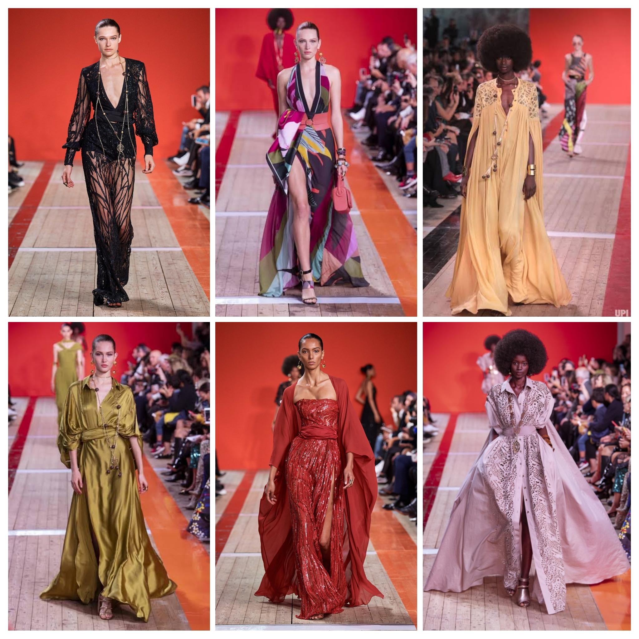 مجموعة متنوعة من أزياء إيلي صعب لربيع وصيف 2020