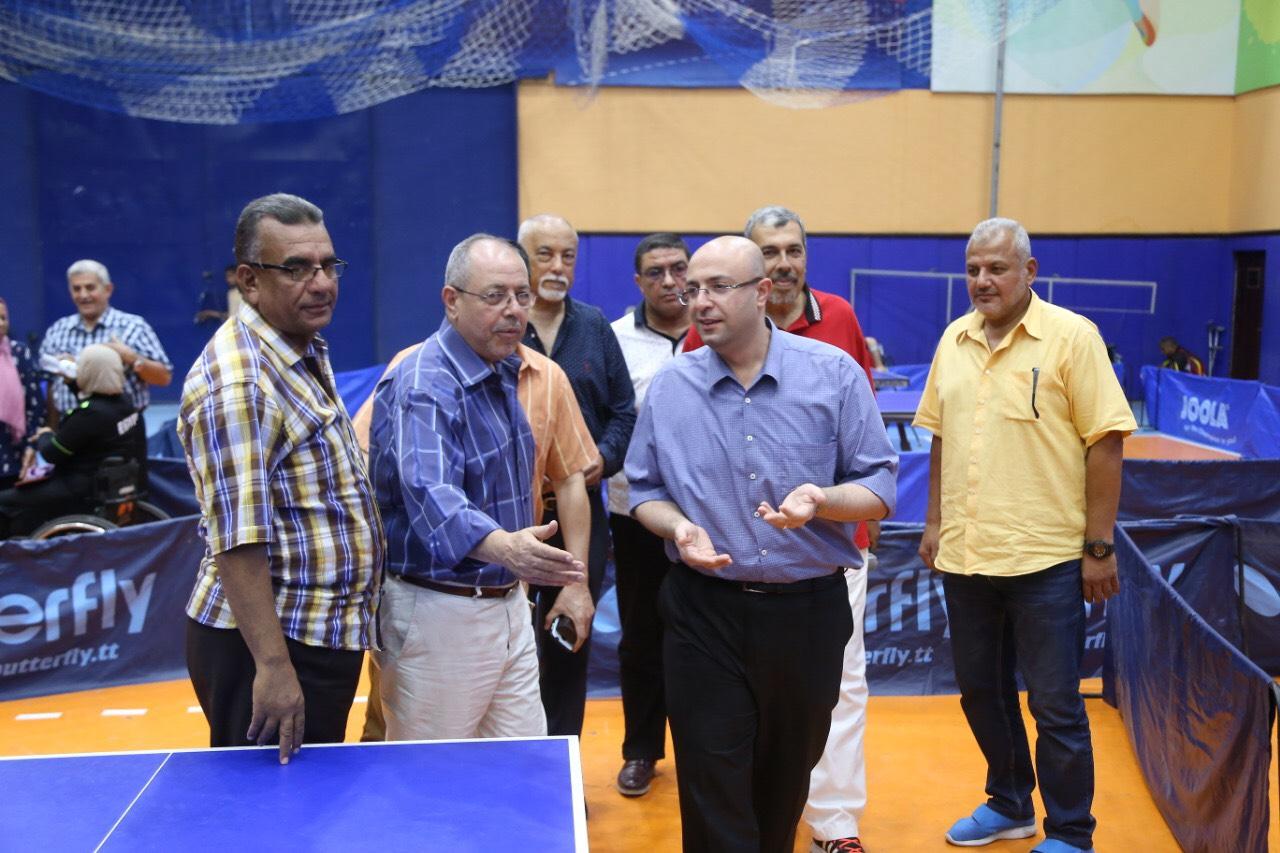 نائب محافظ بورسعيد يشهد بطولة الجمهورية للتنس (3)