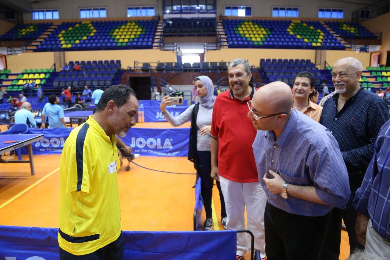 نائب محافظ بورسعيد يشهد بطولة الجمهورية للتنس (5)