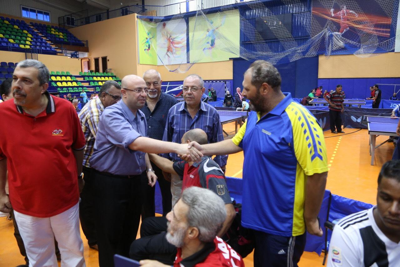 نائب محافظ بورسعيد يشهد بطولة الجمهورية للتنس (7)