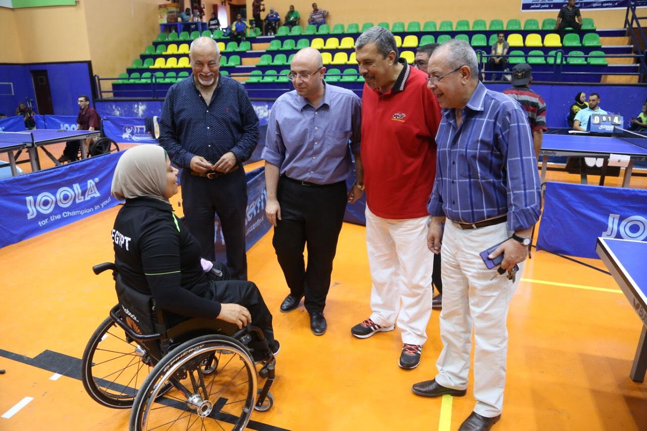 نائب محافظ بورسعيد يشهد بطولة الجمهورية للتنس (4)