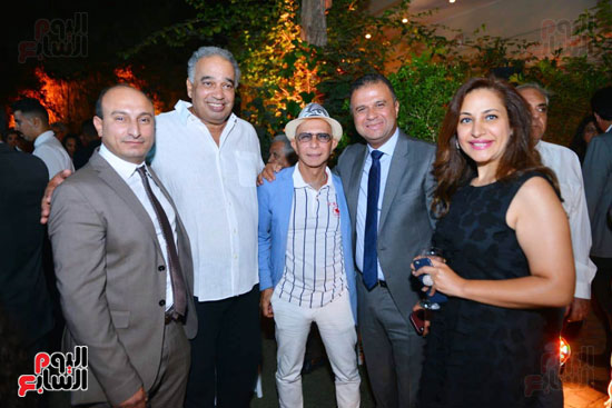 المهندس وليد على والمهندس أشرف أبو شادى وآخرون فى  الحفل