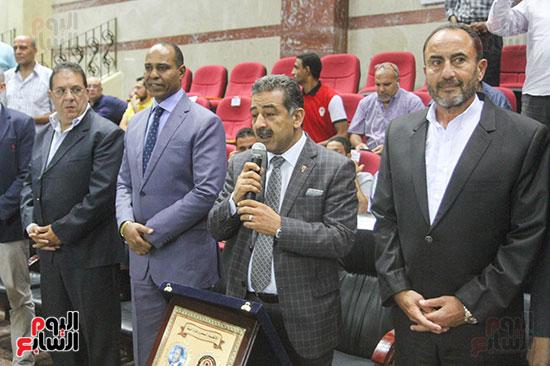 رئيس الاتحاد المصرى لكرة السلة