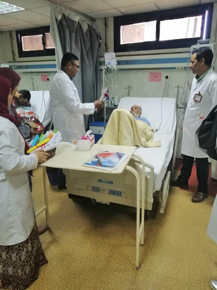 اليوم العالمي للقلب بمستشفي الأقصر الدولي (4)