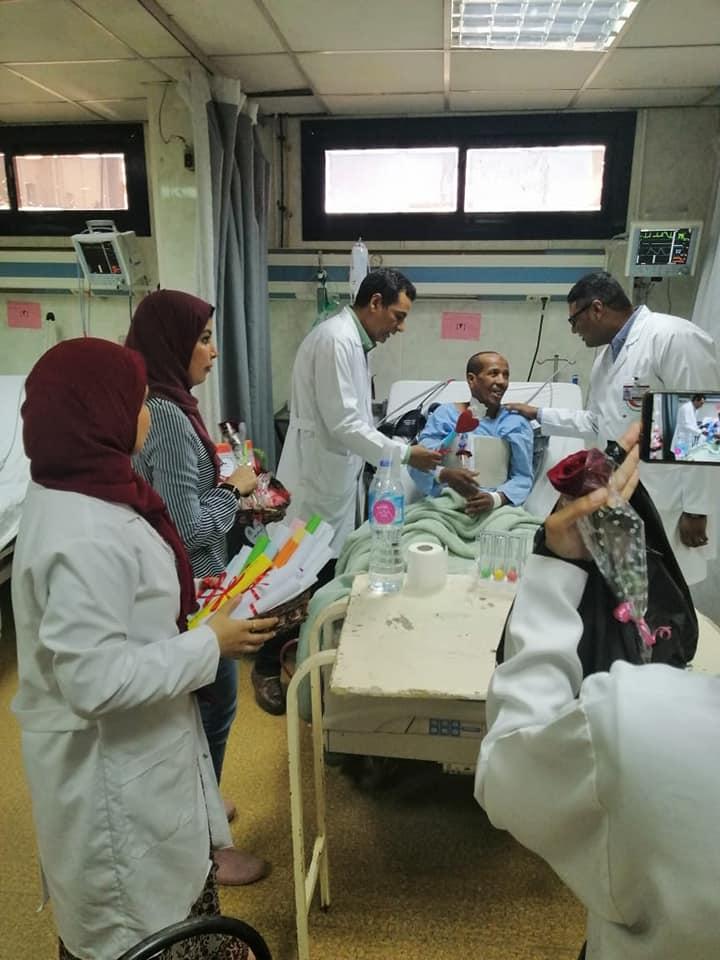 اليوم العالمي للقلب بمستشفي الأقصر الدولي (3)