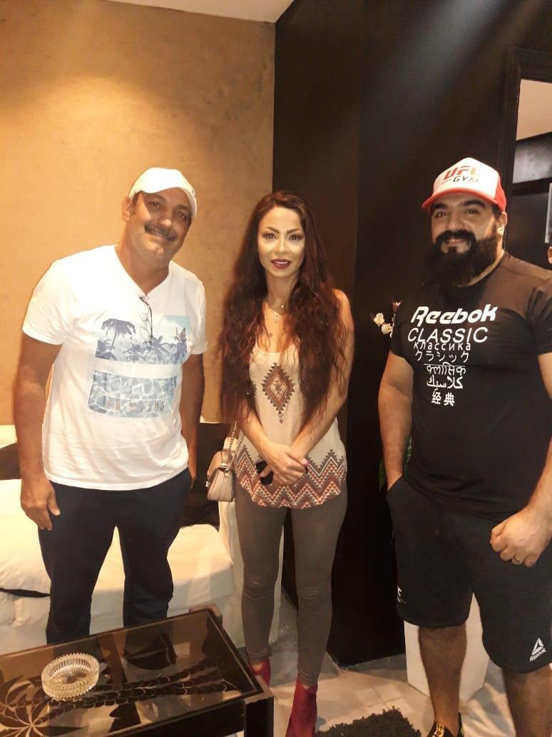 أحمد البرازيلى و دوللي شاهين