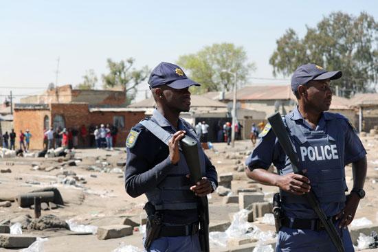 شرطة جنوب أفريقيا