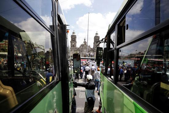 إضراب فى المكسيك