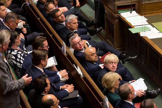 حكومة جونسون بمجلس العموم