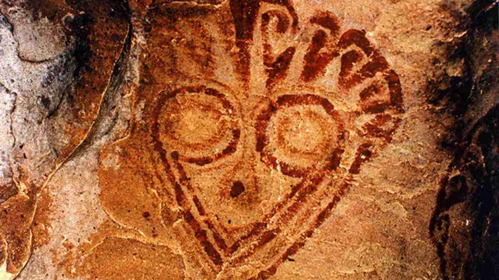 الفن الصخري في سانتا كروز بوليفيا