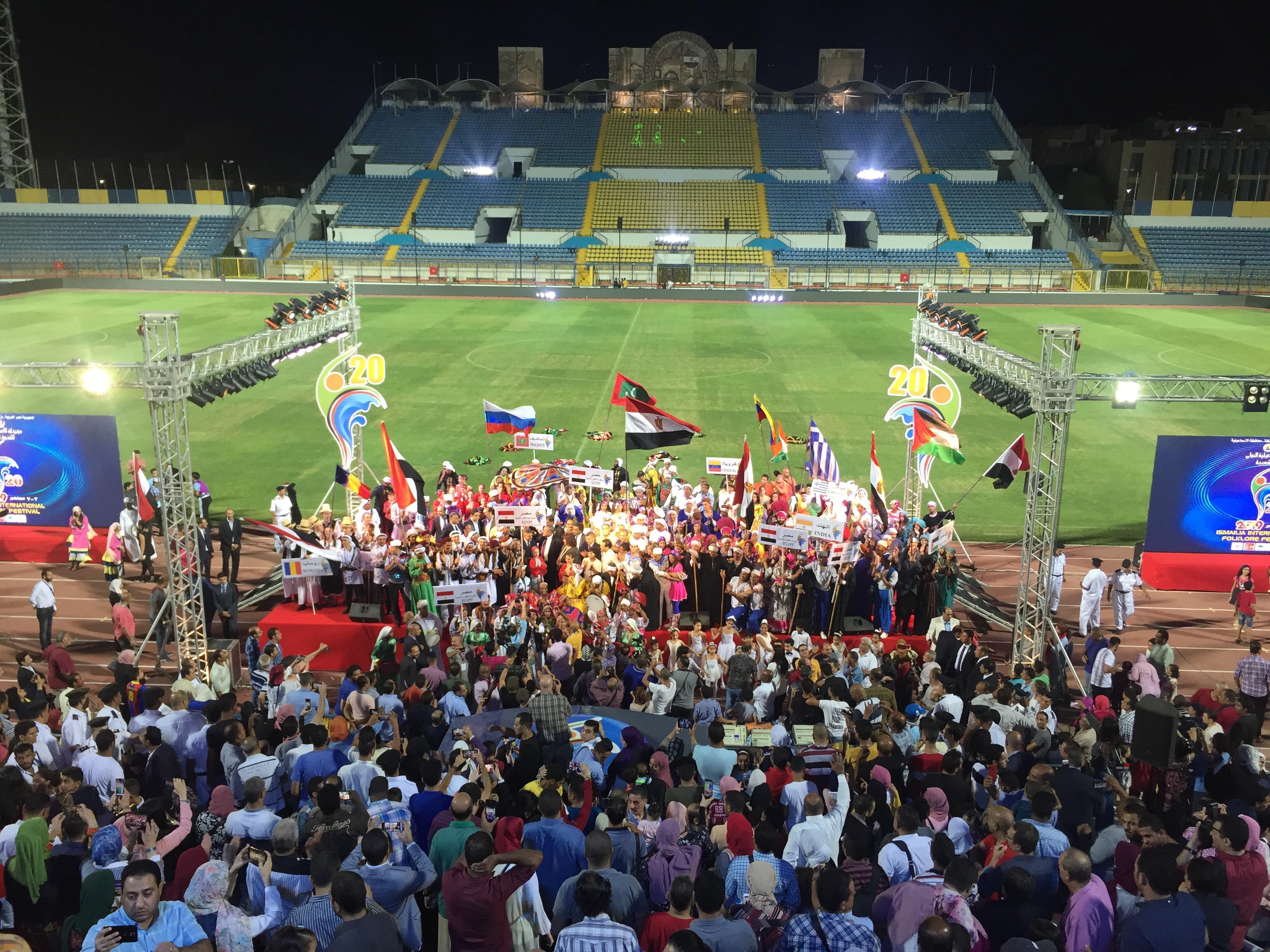 مهرجان الإسماعيلية الدولى العشرين للفنون الشعبية (15)