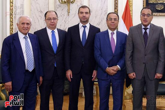 رئيس الوزراء يستقبل وزير التجارة والاقتصاد اللبنانى (8)
