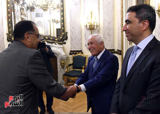 رئيس الوزراء يستقبل وزير التجارة والاقتصاد اللبنانى (3)