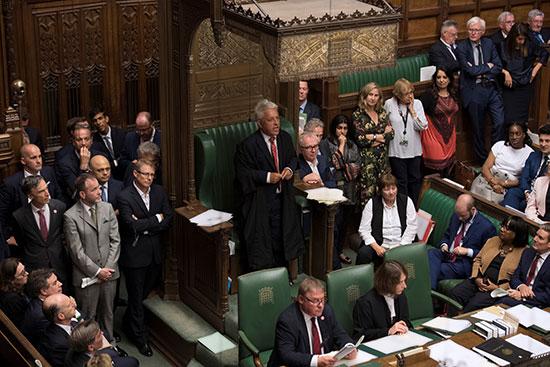 مجلس العموم البريطانى يصوت برفض طلب رئيس الوزراء إجراء انتخابات مبكرة (7)