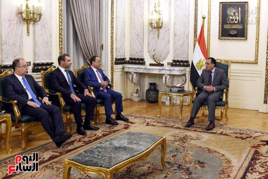 رئيس الوزراء يستقبل وزير التجارة والاقتصاد اللبنانى (7)