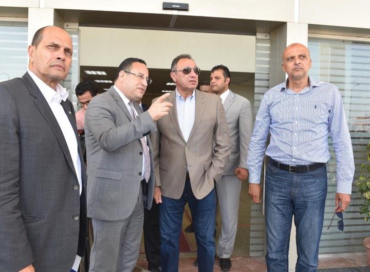 زيارة الخطيب لمحافظ الأسكندرية (5)