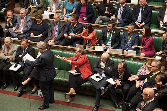 مجلس العموم البريطانى يصوت برفض طلب رئيس الوزراء إجراء انتخابات مبكرة (6)